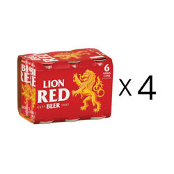 Lion Red 24PK 440ml cans