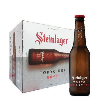 Picture of Steinlager TOKYO Dry  12 Pack Bottles 5% 330ml