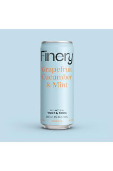 Picture of Finery Sugar Free Grapefruit Cucumber & Mint  250ml cans 24-PACK CLEARANCE SHORT DATED