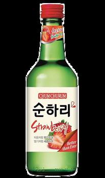 Chum Churum Strawberry 12% 360ml 2 PK