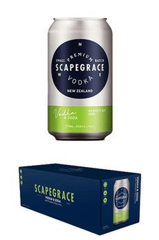 Picture of SCAPEGRACE VODKA SODA LIME 10PK CANS