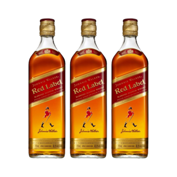 Picture of Johnnie Walker Red Label 700ml 40% Bundle of 3