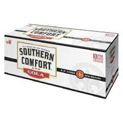 Picture of SOUTHERN COMFORT & COLA 330ML CANS 10 PACK 4.5%