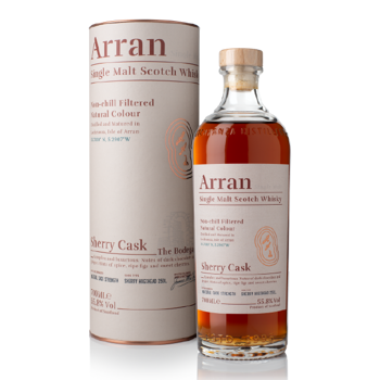 Picture of ARRAN Sherry Cask 700ml ABV 55.8%