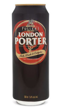 Picture of FULLERS LONDON PORTER 500ML 24pk Cans (CLEARANCE Best before 31-10-2020)