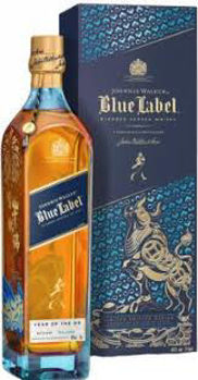 Picture of Johnnie Walker Blue Label Year of the Ox  40% 750ml