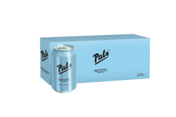 Picture of PALS AMERICAN WHISKEY, APPLE AND SODA 5.8% 10Pk 330ML CANS