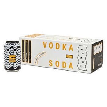 Picture of Rinse Vodka Lemon & Soda 10 packs 330ML ABV: 6% Bundle of 2