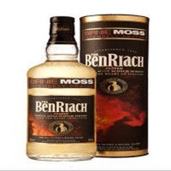 Picture of BENRIACH BIRNIE MOSS PEATED SINGLE MALT 700ML