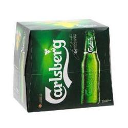 Picture of Carlsberg Green 12 Pack Bottles 330ml