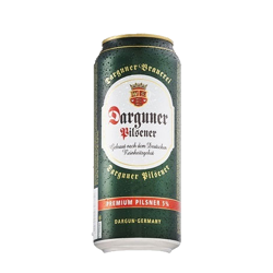 Picture of DARGUNER PILSENER 5% 500ML 24PK CANS (CLEARANCE EXPIRED)
