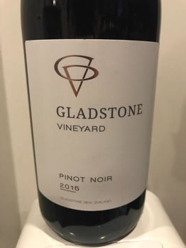 Picture of GLADSTONE VINEYARD PINOT NOIR 2015 750ML
