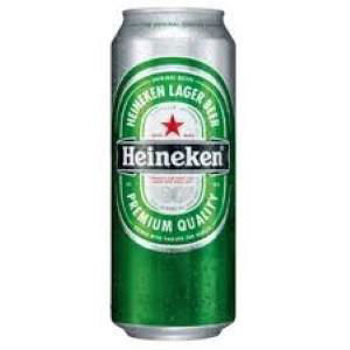 Picture of HEINEKEN IMPORTED 24 PACK 500ML CANS