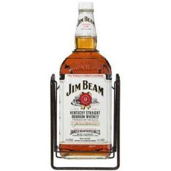 Picture of JIM BEAM 4500 ML WITH CRADLE 40% ABV