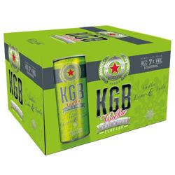 Picture of KGB VODKA LIME AND SODA 12PK CANS 250ML