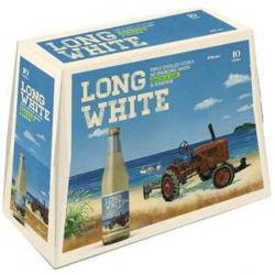 Picture of LONG WHITE VODKA LEMON LIME 4.8% 10Pk 320ML