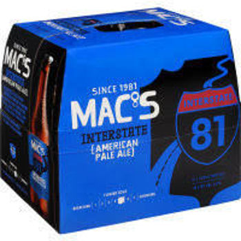 Picture of Macs Interstate American Pale Ale 12 Pack Bottles 330ml