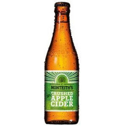 Picture of MONTEITH APPLE CIDER  12 PACK 330ML BOTTLES