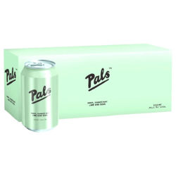 Picture of PALS VODKA LIME AND SODA 5.0% 10Pk 330ML CANS