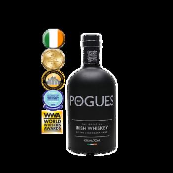 Picture of Pogues Irish Single Malt Whiskey Triple Distilled 40% 700ml