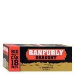 Picture of RANFURLY BEER 18PK 440ML CANS