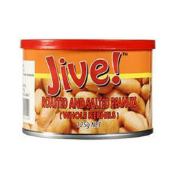 Picture of ROASTED & SALTED PEANUTS TIN 125GM