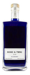 Picture of ROSE AND TWIG GIN BLUEBERRY 37.5% 700ML