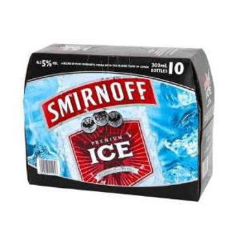 Picture of Smirnoff Ice 5% 10 Pack Bottles 300ml