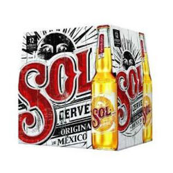 Picture of Sol 12 Pack Bottles 330ml