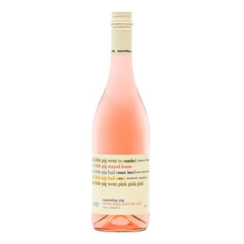 Picture of Squealing Pig Pinot Noir Rose 750ml, Marlborough New Zealand