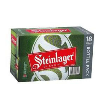 Picture of Steinlager Classic 18 Pack Bottles 5% 330ml