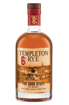 Picture of TEMPLETON RYE RESERVE 6YR WHISKEY 45.75% 700ML