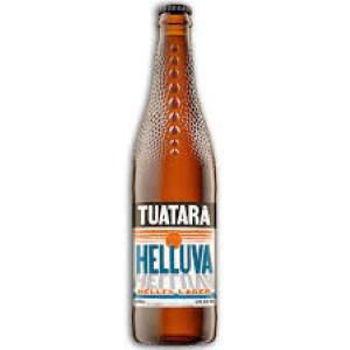 Picture of TUATARA HELLES LAGER 330ML BOTTLES 6 PACK