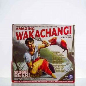 Picture of Wakachangi Lager 12 Pack Bottles 330ml Bundle of 5