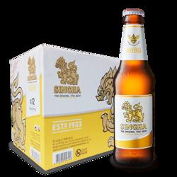 Picture of Singha Beer 330ml 12 pack
