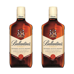 Picture of Ballantines Finest Scotch Whiskey 1000ML Bundle of 2